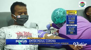 Antusiasme tampak pada donor darah Ramadhan yang digelar Yayasan Pundi Amal Peduli Kasih (YPP SCTV-Indosiar), yang bekerja sama dengan Palang Merah Indonesia (PMI) Kota Malang. Dalam tiga hari, terkumpul lebih dari 1.200 kantong darah.
