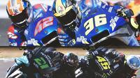 MotoGP - 3 Tim dengan Duet Pembalap Paling Harmonis di MotoGP 2021 (Bola.com/Adreanus Titus)