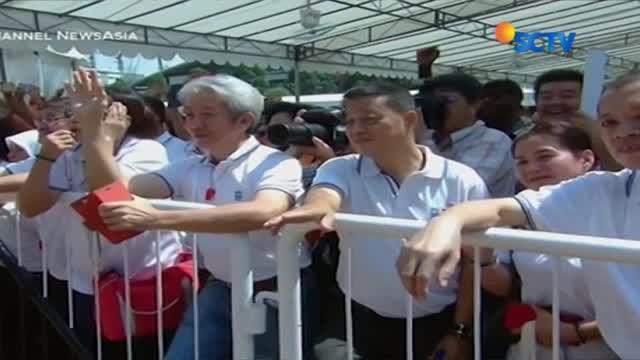 Halimah Yacob Hari Ini Dilantik Sebagai Presiden Singapura (PETANG)