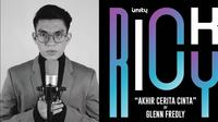"Ricky UN1TY cover lagu Glenn Fredly bertajuk ""Akhir Cerita Cinta"". (credit: Youtube One ID Music)"