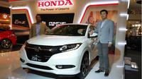 PT Honda Prospect Motor (HPM) resmi meluncurkan new Honda CR-Z di Central Park Mall, Jakarta Barat, Selasa (8/3/2016).