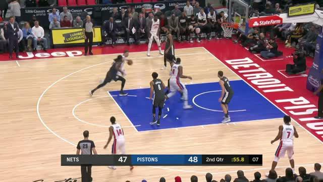 Berita video game recap NBA 2017-2018 antara Detroit Pistons melawan Brooklyn Nets dengan skor 116-106.