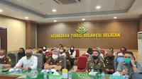 Kejati Sulsel mengaku terus menggenjot penyelidikan dugaan korupsi pengelolaan anggaran di lingkup PDAM Makassar (Liputan6.com/ Eka Hakim)