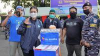 XL Axiata salurkan bantuan untuk para korban terdampak bencana alam badai Seroja di NTT. (Foto: XL Axiata)