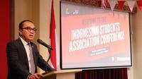 Dubes RI Tantowi Yahya membuka Konferensi Perhimpunan Pelajar Indonesia (PPI) Selandia Baru di Wellington. (KBRI Wellington)