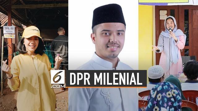 KPU menetapkan 575 anggota DPR RI periode 2019-2024. Dari data KPU tercatat anggota DPR termuda berusia 23 tahun, berikut 3 diantaranya.