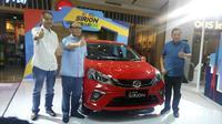 All new Daihatsu Sirion resmi mengaspal di Indonesia (13/2/2018).  (Arief/Liputan6.com)