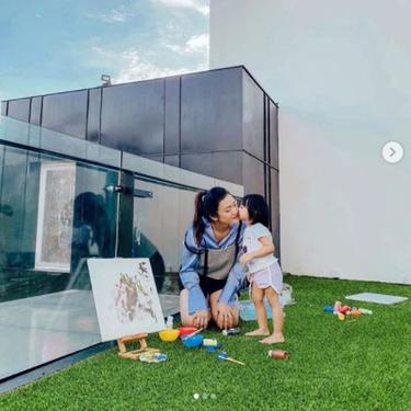 Menengok Rooftop Rumah Baru Raditya Dika, Jadi Tempat Favorit Istri dan Anaknya