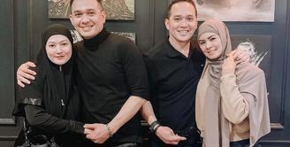 Fadlan Muhammad dan Lyra Virna bersama Fadli Akbar dan istri (Instagram/raninyafadli)