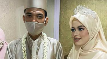 6 Momen Pernikahan Ustaz Abdul Somad dan Fatimah Az Zahra, Terpaut Usia 24 Tahun