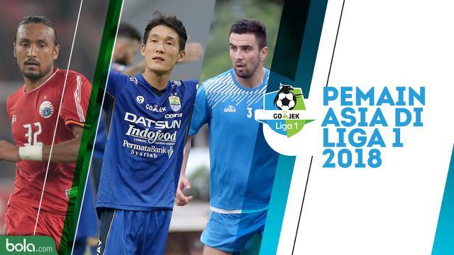 16 Pemain Asia Yang Mewarnai Liga 1 2018 Indonesia Bolacom