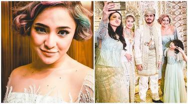 Potret Marshanda saat Pernikahan Adiknya, Cantik dengan Rambut Pendek