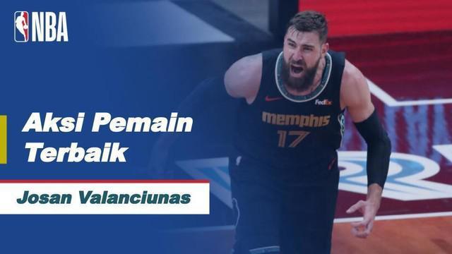 Berita Video Aksi-Aksi Terbaik dari Jonas Valanciunas Saat Bawa Memphis Grizzlies Kalahkan Antonio Spurs di NBA Hari Ini