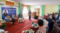 Kepala BKKBN, Hasto Wardoyo saat memberikan kuliah umum di Politeknik Kesehatan Pontianak, Jurusan Keperawatan Singkawang, Kalimantan Barat pada Senin (16/2/2020)