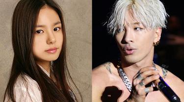 Taeyang dan Min Hyo Rin