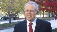 Scott Morrison terpilih sebagai perdana menteri baru Australia menggantikan Malcolm Turnbull. (AP Photo)