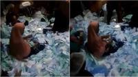 Video viral packing masker solida (Sumber: Twitter/tubirfess)
