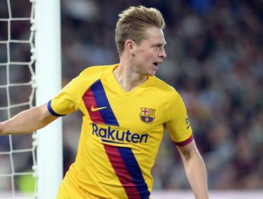 Frenkie de Jong di Barcelona