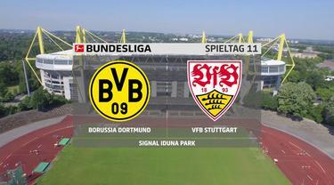 Berita video gol-gol yang tercipta saat Borussia Dortmund kalah 1-5 dari Stuttgart pada pekan ke-11 Bundesliga 2020/2021, Sabtu (12/12/2020) dinihari WIB.