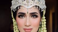 Momen akad nikah Tania Nadira dan Abdulla Elwi (Sumber: Instagram/bennusorumba)
