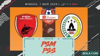 Shopee Liga 1 - PSM Makassar Vs PSS Sleman (Bola.com/Adreanus Titus)