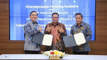 Perkuat Ekosistem Digital, BRI Bersinergi dengan Peruri Digital Security (PDS)