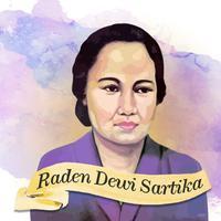 Raden Dewi Sartika | Digital Imaging by Nurman Abdul Hakim/Fimela.com