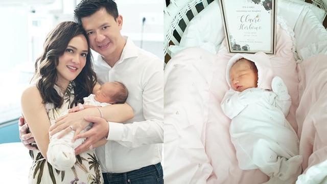 6 Potret Claire Herbowo Anak Shandy Aulia Yang Menggemaskan Hot