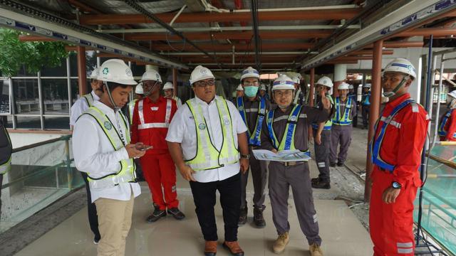 Proyek Revitalisasi Terminal 1 Bandara Soetta Capai 20 Persen