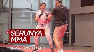 Berita video dua bintang Timnas Indonesia, Firza Andika dan Zahra Muzdalifah, merasakan serunya MMA (Mixed Martial Arts) di event Meet and Greets jelang One Championship, Warrior's Code.