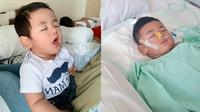 Bayi Shaka yang Viral Tertidur Selama 1 Tahun Meninggal Dunia(Sumber: TikTok/@shaka_17)