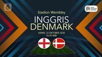 Inggris vs Denmark (Liputan6.com/Abdillah)