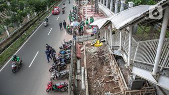 Penataan Kawasan Stasiun Tebet dan Palmerah Beres, Siap Diresmikan Rabu 29 September