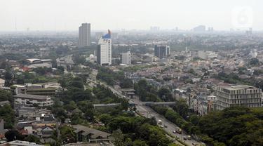 FOTO: Minggu Pertama PSBB, Kualitas Udara Jakarta Membaik