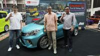 Grand final kontes modifikasi Daihatsu Dress-Up Challenge (DDC) 2019 berlangsung di Jakarta. (ist)