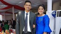 Kahiyang Ayu dan Bobby Nasution (Sumber: Instagram/ayanggkahiyang)