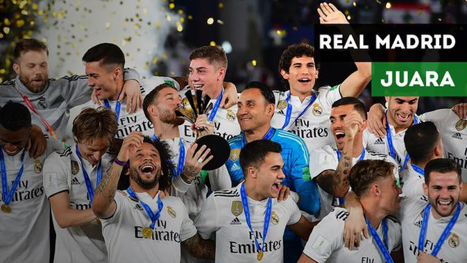 VIDEO: Highlights Final Piala Dunia Antarklub, Real Madrid