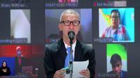 Ketua Umum PPDI Ghufron Sakaril dalam acara puncak Hari Disabilitas Internasional 2020 (Foto: Tangkapan layar Youtube Kemensos RI)