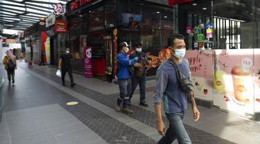 FOTO: Malaysia Perketat Pembatasan Pergerakan Terkait COVID-19
