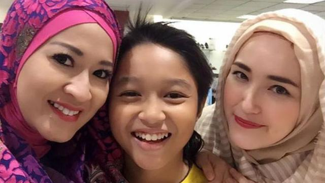 Akrabnya Okie Agustina dan Istri Pasha Ungu Bikin Netizen