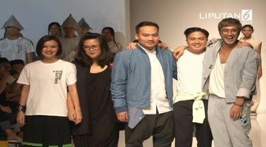 Koleksi-koleksi dari 4 desainer ternama yang dipamerkan di IPMI Trend Show 2017 pada tanggal 11 Nov 2017
