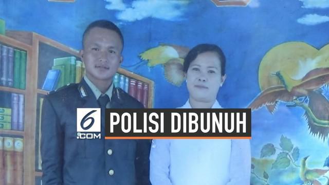 Seorang anggota Kepolisian Papua, Briptu Hedar tewas ditembak di Kabupaten Puncak, Papua. Sebelum meninggal, Haedar sempat menitip pesan pada sang Ayahana.