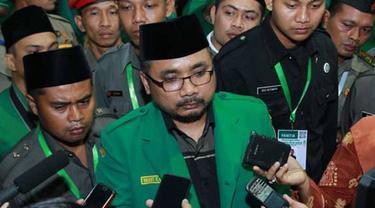 Ketua Umum GP Ansor Yaqut Cholil Qoumas