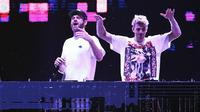 The Chainsmokers (Foto: Bambang E. Ros/Bintang.com)