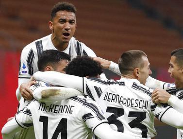 FOTO: Juventus Akhiri Tren Kemenangan AC Milan di Liga Italia