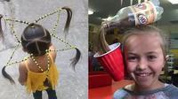 6 Gaya Nyeleneh Kuciran Rambut Anak-Anak Ini Bikin Ngelus Dada
