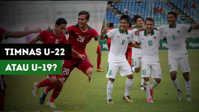 Berita Video tanggapan masyarakat saat diminta memilih Timnas Indonesia U-19 atau Timnas Indonesia U-22