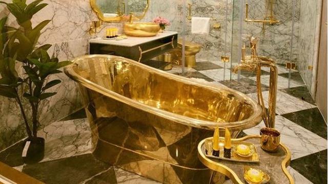Mengintip Interior Hotel Berlapis Emas Pertama di Dunia, Ada di Mana?