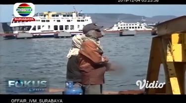 Menjelang liburan Natal 2019 dan Tahun Baru 2020 (Nataru), Pelabuhan ASDP Ketapang mulai mempersiapkan diri. Salah satunya, melakukan perbaikan breasting dolphin atau tempat tambat dermaga ponton.