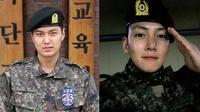 Lee Min Ho dan Ji Chang Wook (Sumber: jazminemedia.com dan Instagram/jichangwook)